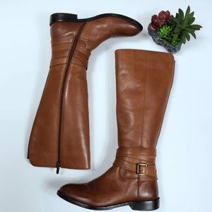 SAM EDELMAN Full Zip Leather Riding Boots :1501